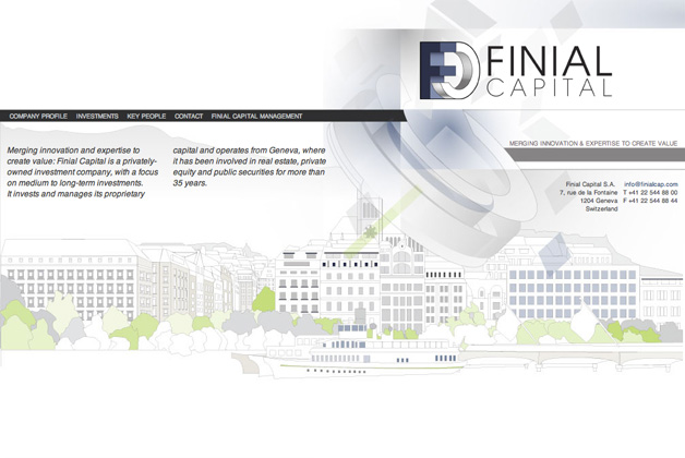 finial capital homepage